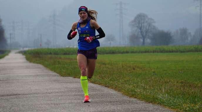 Natalie Wangler gewann den 10-km-Lauf des Königsforst-Marathons.