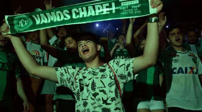 """""""Chape"""" hat die Rückkehr in die erste brasilianische Liga geschafft."""