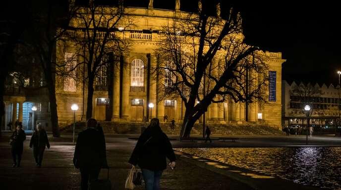 Oper und Schauspielhaus in Stuttgart bleiben geschlossen.