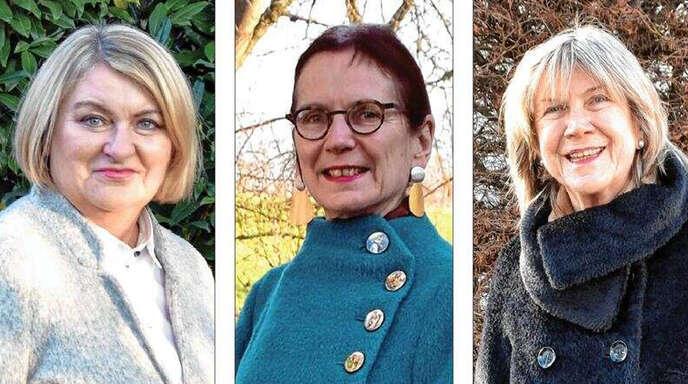 Seit den Neuwahlen im Mai vergangenen Jahres bilden mit Sabine Schumacher (links), Jutta Wellhöner (Mitte) und Barbara Felchner (rechts) drei Frauen den Vorstand des evangelischen Kirchengemeinderats Offenburg.