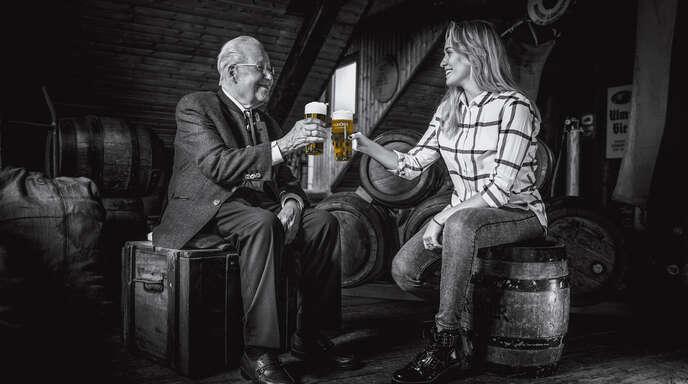 """""""Tradition leben, aber neue Wege gehen. Genau unser Bier."""""""