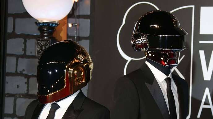 Daft Punk 2013 bei den MTV Video Music Awards in Brooklyn New York.