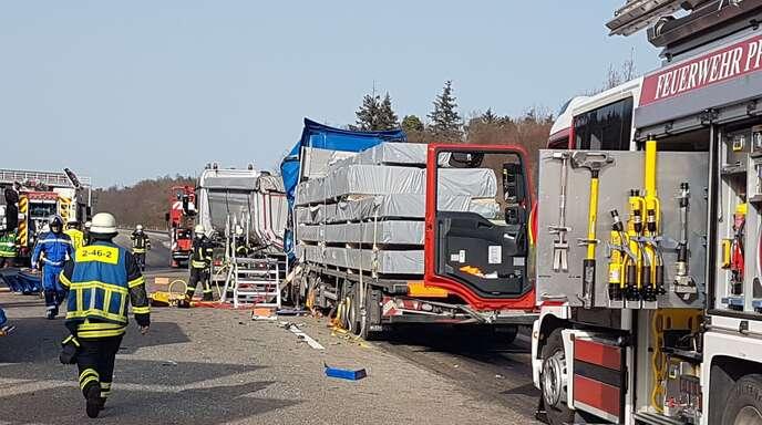 Der Unfall ereignete sich auf der A8 bei Pforzheim.