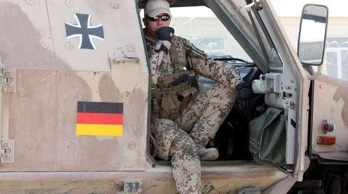 Ein Soldat der Bundeswehr in Afghanistan.