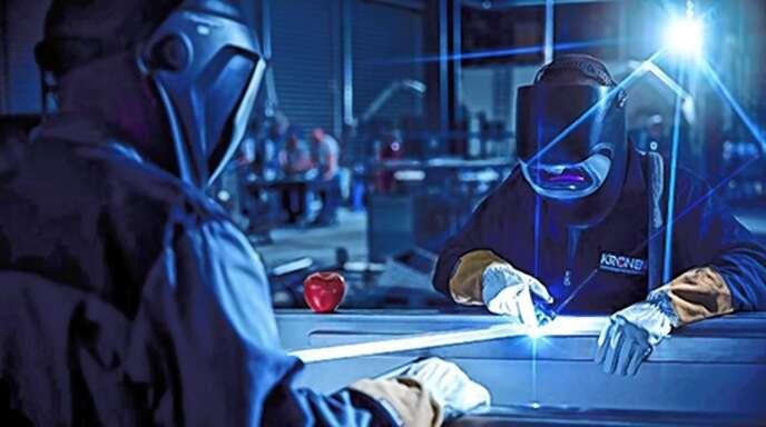 Die Maschinen werden in Kehl-Goldscheuer produziert und in mehr als 100 Länder exportiert.