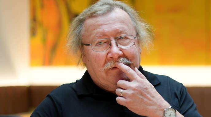 Der gebürtige Karlsruher Philosoph Peter Sloterdijk hat mit seinen Büchern und Beiträgen zahlreiche Debatten ausgelöst.