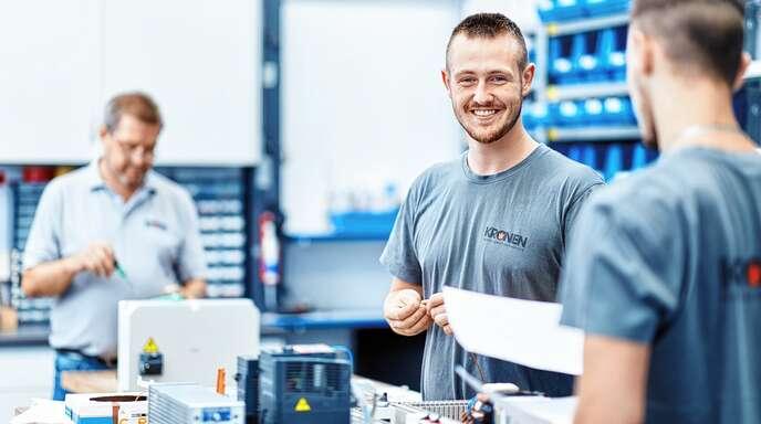 Ab Herbst startet die KRONEN GmbH auch ins neue Ausbildungsjahr.