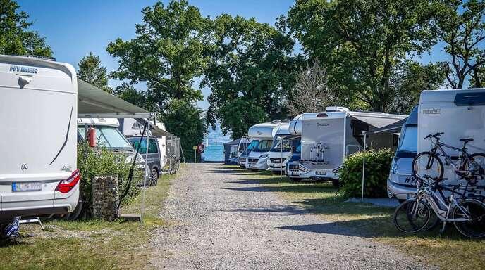Auch Urlaub auf dem Campingplatz oder in der Ferienwohnung ist in Baden-Württemberg derzeit wegen der Corona-Infektionszahlen noch nicht erlaubt.