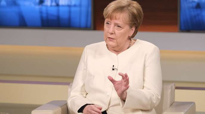 Angela Merkel stellte sich den Fragen von Anne Will.