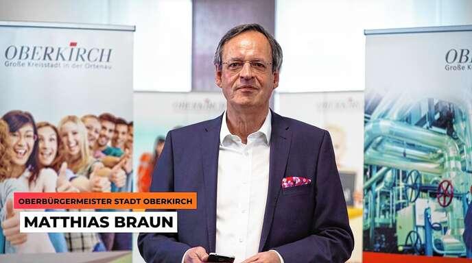 Oberbürgermeister Matthias Braun und Rektor Werner Franz begrüßen Teilnehmer und Besucher in einem Video.