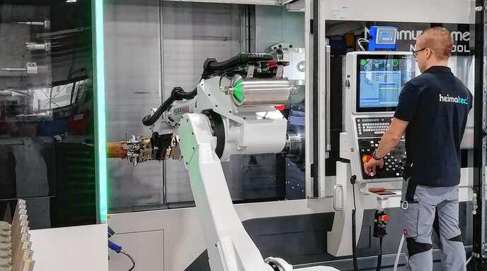Zur Produktion ihrer Werkzeuge nutzt heimatec® die neusten Fertigungstechnologien.
