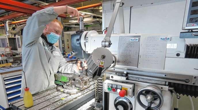 Wer sich für CNC-Technik interessiert, hat beste Aussichten bei JACO.