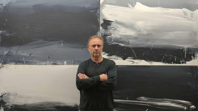 Auch Werner Schmidt hat, als selbständiger Künstler, mit den Auswirkungen der Pandemie zu kämpfen. Schmidt führt ein Atelier in Oberkirch und Berlin.