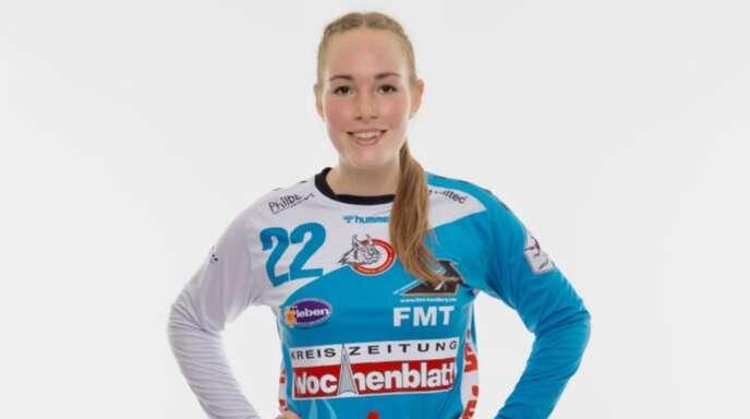 Zoe Ludwig wird auch in den nächsten beiden Saisons das Tor der HL Buchholz 08-Rosengarten hüten.