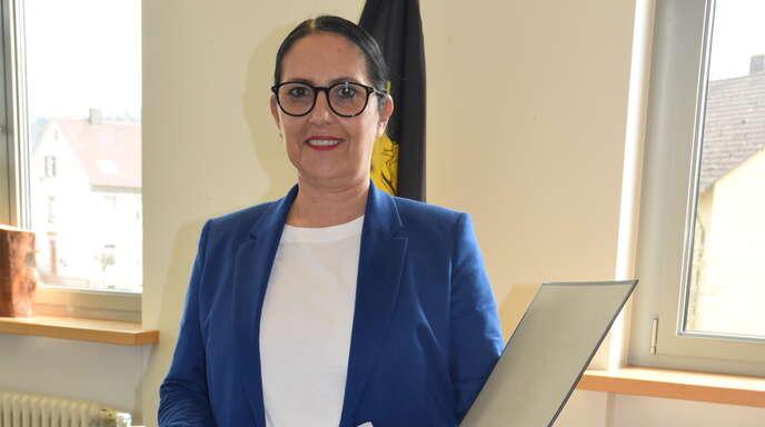 Biberachs Bürgermeisterin Daniela Paletta (49, parteilos)ist durch die Pandemie seit März 2020 zur Krisenmanagerin im Rathaus geworden.