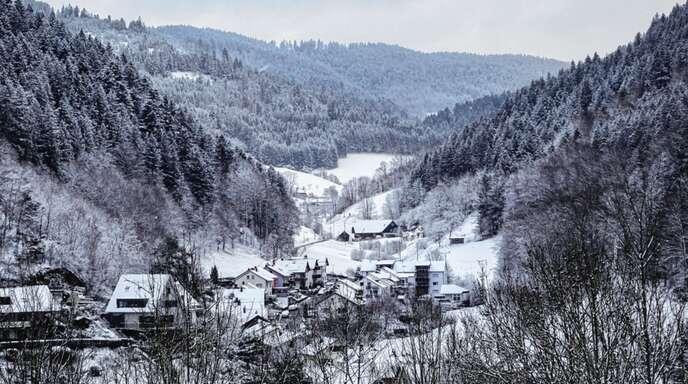 Eine seltenes Bild: Seit Messungsbeginn gab es in einem April in Wolfach noch nie so viel Schnee.