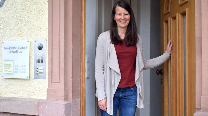 Felicitas Otto ist die neue Pfarrerin der evangelischen Kirchengemeinde Achern. Es ist ihre erste Pfarrstelle.