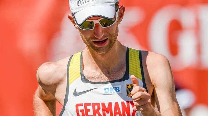 Carl Dohmann, Schützling von Robert Ihly, hat das Olympia-Ticket sicher.