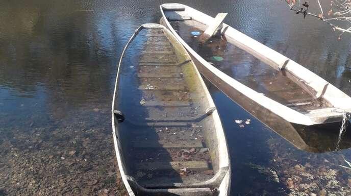 Die beiden Boote könnten noch restauriert werden – falls sich der Besitzer dazu aufrafft.