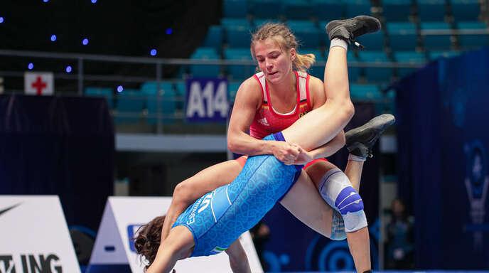 Annika Wendle aus Altenheim, hier bei der WM in Nur-Sultan, startet ab Donnerstag bei der EM in Warschau.