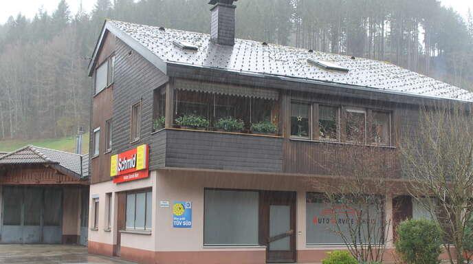 Die Postfiliale im Gebäude von Auto-Service Schmid in Schapbach ist seit über einem Jahr geschlossen.