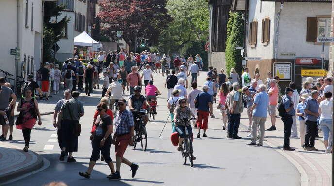 Der Mösbacher Kirschblütenzauber lockt gewöhnlich Tausende Wanderer in den Acherner Stadtteil. Coronabedingt fällt die Veranstaltung nun zum zweiten Mal aus.
