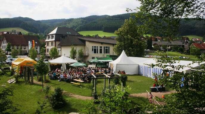Das Bachmusikfest der Musikkapelle Hofstetten zog stets zahlreiche Besucher an.
