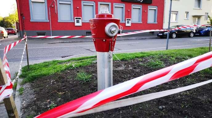 Der Hydrant.