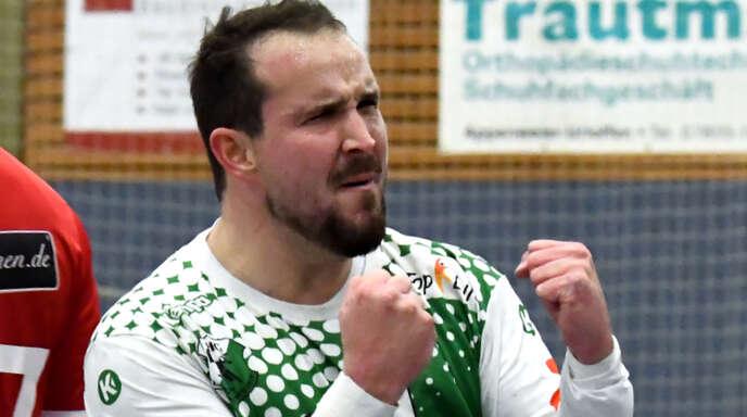 Handballer David Fritsch will 15000 Kilometer laufen und dabei Geld für einen guten Zweck einsammeln.
