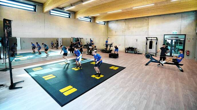 Nach eingehendem Check-up werden individuelle Trainingspläne erarbeitet und immer wieder angepasst.