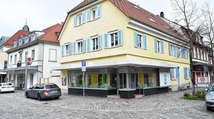 Das Hauptgeschäft von Augenoptik Müller in Oberkirch.