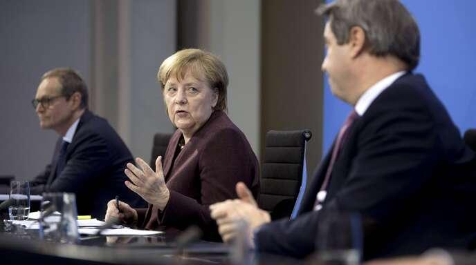 Das geplante Treffen zwischen Bund und Ländern am kommenden Montag wackelt.