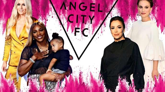 Klicken Sie sich durch unsere Bildergalerie, um einige Stars hinter Angel City FC zu sehen.