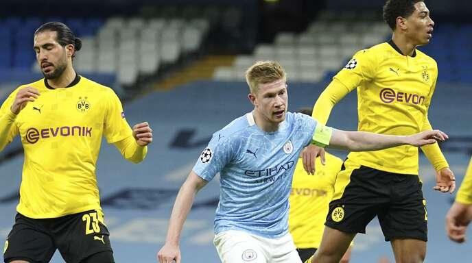 Kevin De Bruyne erzielte das 1:0 für City.