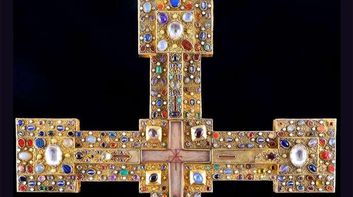 Das Adelheidkreuz wurde vor dem Großherzog gerettet.