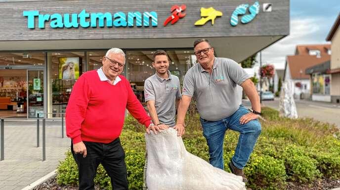 Meister ihres Fachs im Familienbetrieb: Geschäftsführer Martin Trautmann, Jan Trautmann und Geschäftsführer Matthias Trautmann.