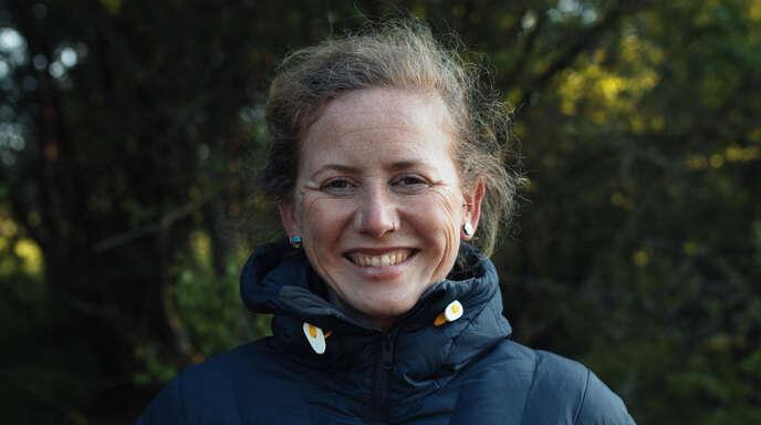 Svenja Fox führt auch gehörlose Menschen durch den Nationalpark Schwarzwald.