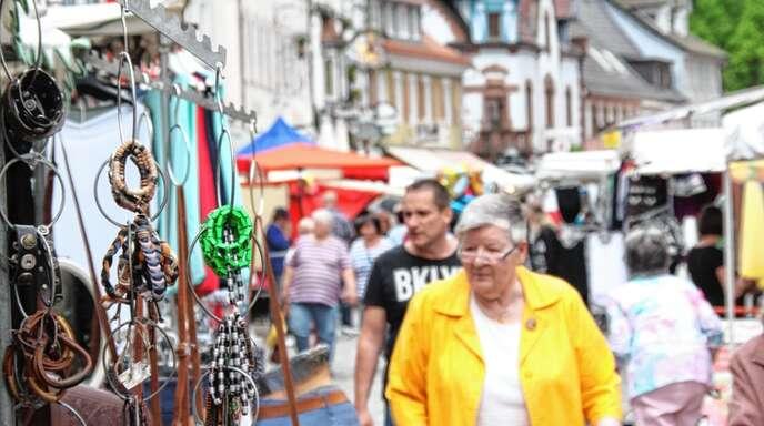 Der zweite Wolfacher Jahrmarkt in diesem Jahr ist abgesagt. Aus einem Bummel über den Pfingstmarkt wird frühestens 2022 wieder etwas.