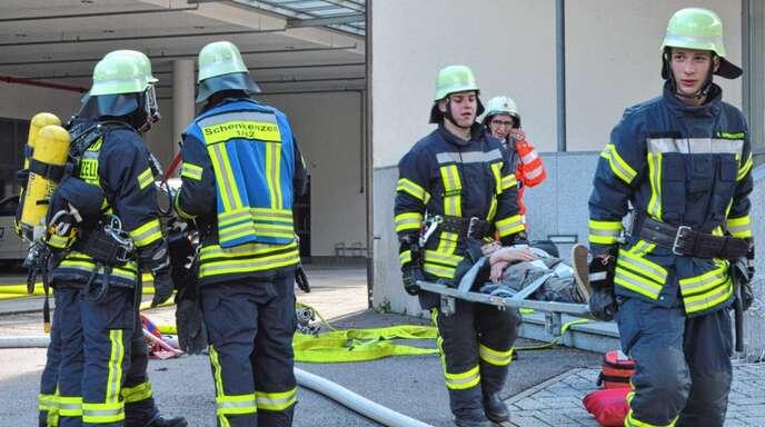 Die Feuerwehr Schenkenzell soll künftig ein neues Leitungs-Trio erhalten.