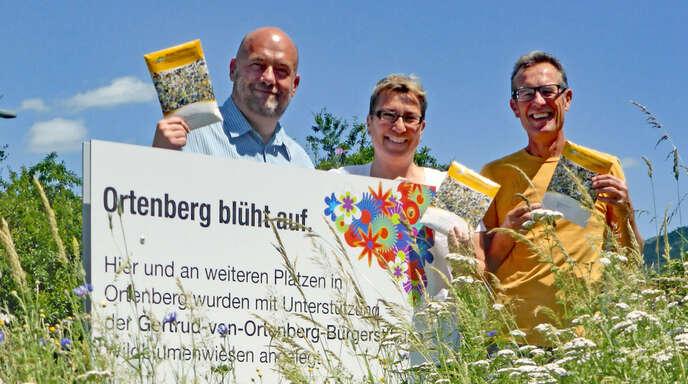 """""""Ortenberg blüht auf"""" war eine von vielen Aktivitäten der Bürgerstiftung. Jetzt wurde die Förderstrategie erweitert."""