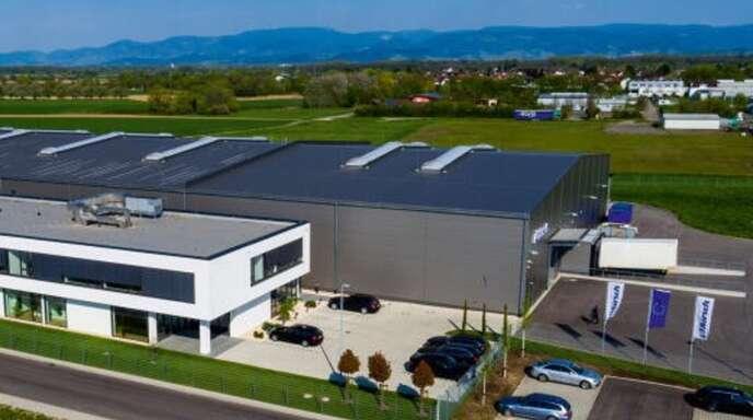 Das Firmengebäude der Philipp Kirsch GmbH in Willstätt-Sand.