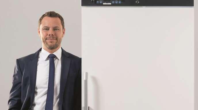 GeschäftsführerDr. Jochen Kopitzke ist stolz auf das Team und die Produkte, die rund um den Erdball Verwendung im Pharmabereich finden.