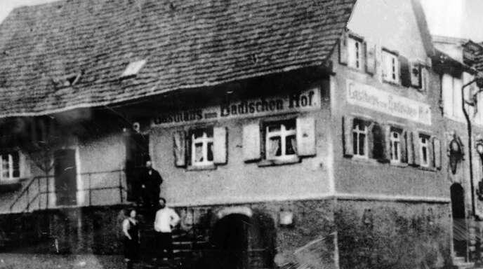 Im jüdischen Gasthaus Badischer Hof in der Diersburger Strittmattgab es Theateraufführungen - wie in anderen Sälen auch.