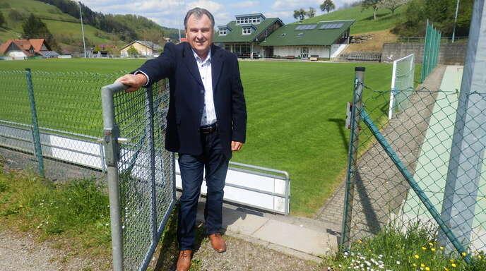 Hans-Peter Steiner ist Vorsitzender der DJK Welschensteinach.