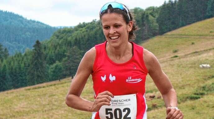 Ann-CathrinUhl(LGBrandenkopf)reiste extra aus der Schweiz an.
