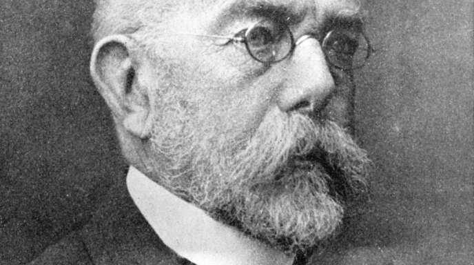 Der deutsche Bakteriologe Robert Koch (undatierte Aufnahme) entdeckte vor 120 Jahren das Tuberkulosebakterium und ein Jahr später den Erreger der Cholera.