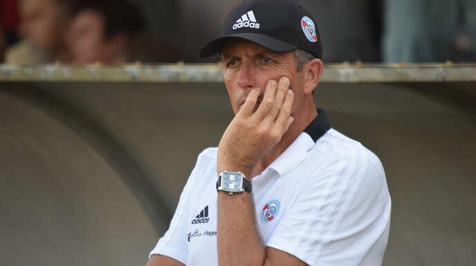 Für Trainer Thierry Laurey und Racing Straßburg wird es nochmal richtig eng im Abstiegskampf.
