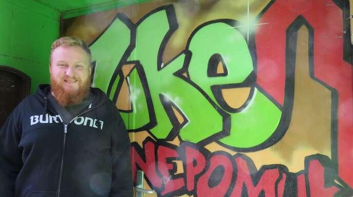 Heiko Borsch, Leiter des Juke, freut sich über das Angebot, dass er den Jugendlichen machen kann.