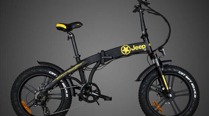 DasJeep Fold FAT E-Bike FR 7020 sieht nicht nur Spitze aus, sondern hat ganz schön Power.