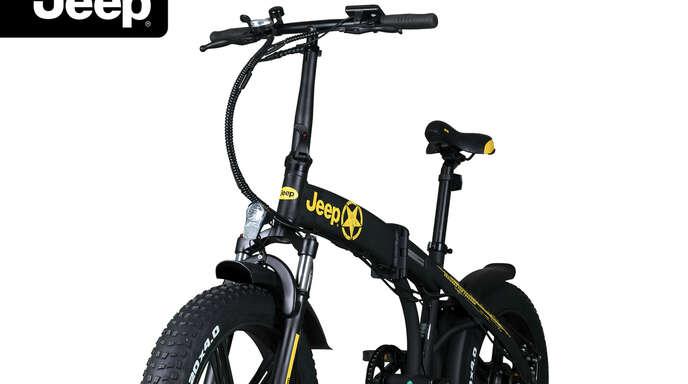 Mit wenigen Handgriffen ist dasJeep Fold FAT E-Bike FR 7020 fahrbereit.
